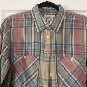Denim & Supply plaid button down shirt